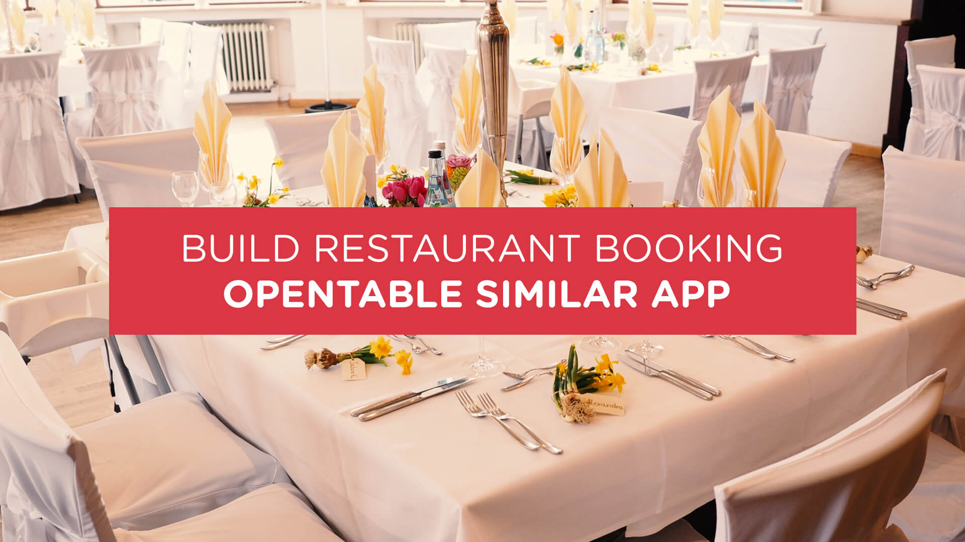 How to Build an Online Booking Module for OpenTable Similar App
