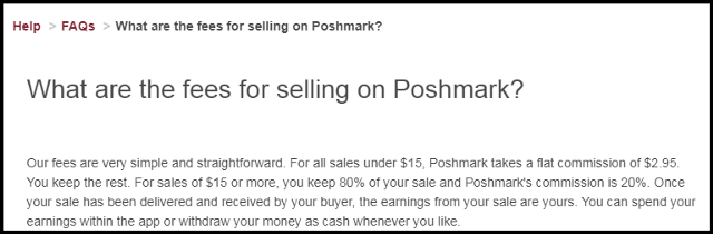 Poshmark Seller Fees_TRooTech Business Solutions