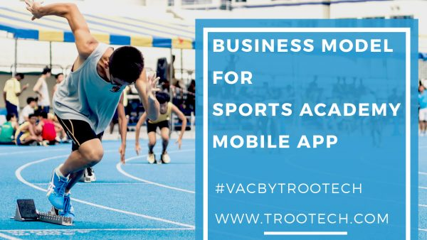 Planning of the business model for sport academy app 2