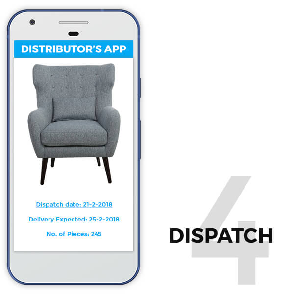 features of retail distributor app dispatch- TRooTech Buisness Solutions