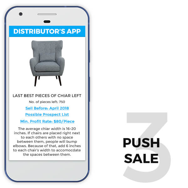 retail distributor app features push sale - TRooTech Buisness Solutions