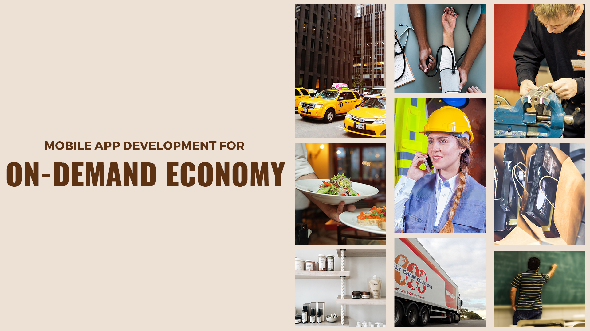 Exploration of the Industries Disrupted by On-Demand Economy Cover_5_TRootech Business Solutions