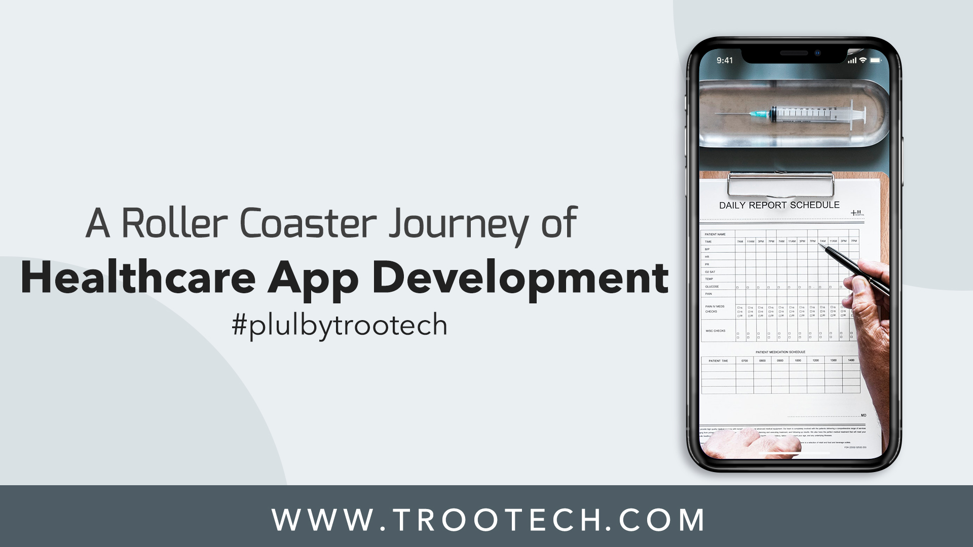 App Development For Health Records - Must Read Case Study For Healthcare Startups TRooTech Business Solutions