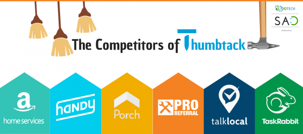 the competitors of thumbtack