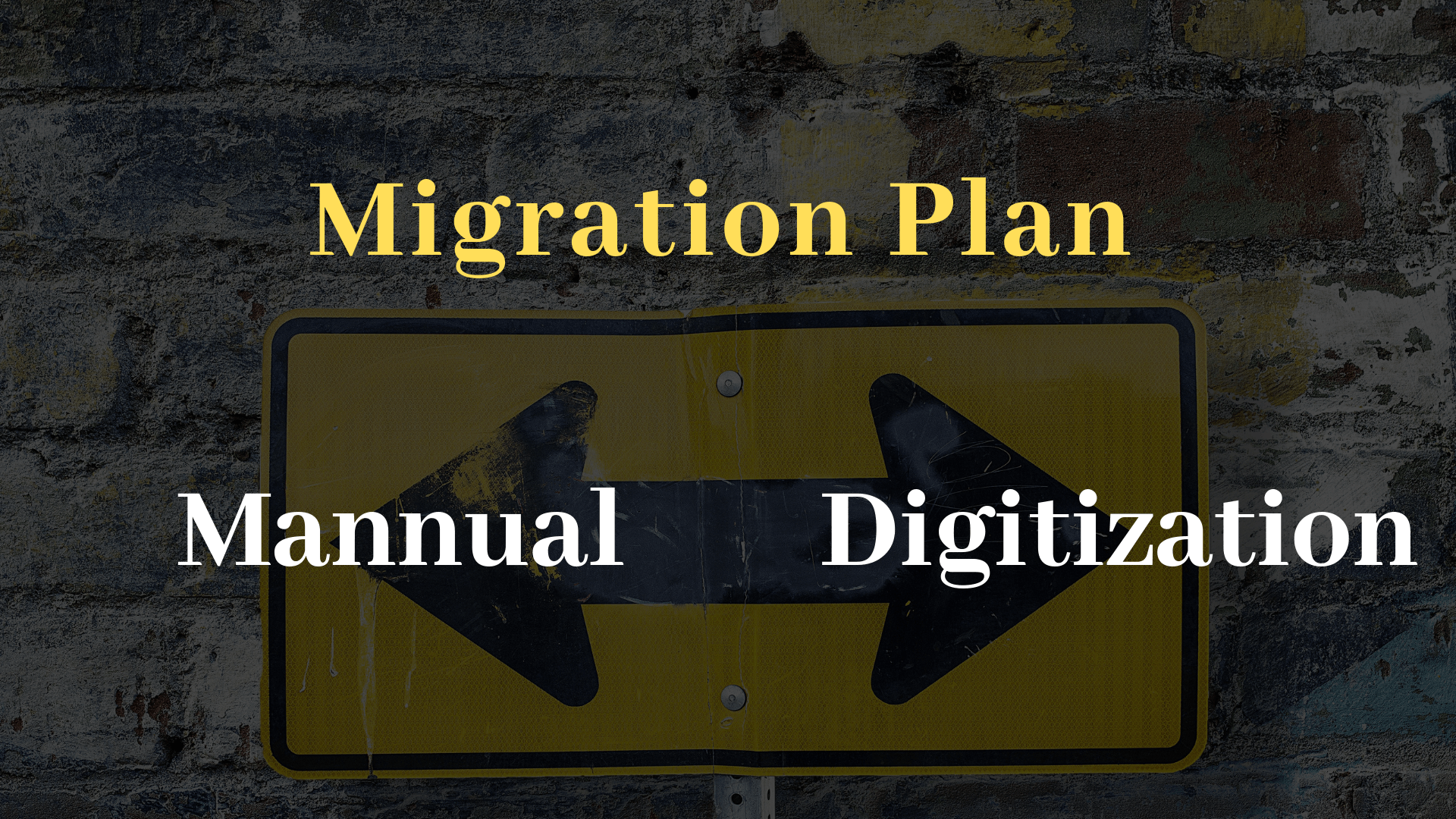 Migration Plan TRooTech Business Solutions