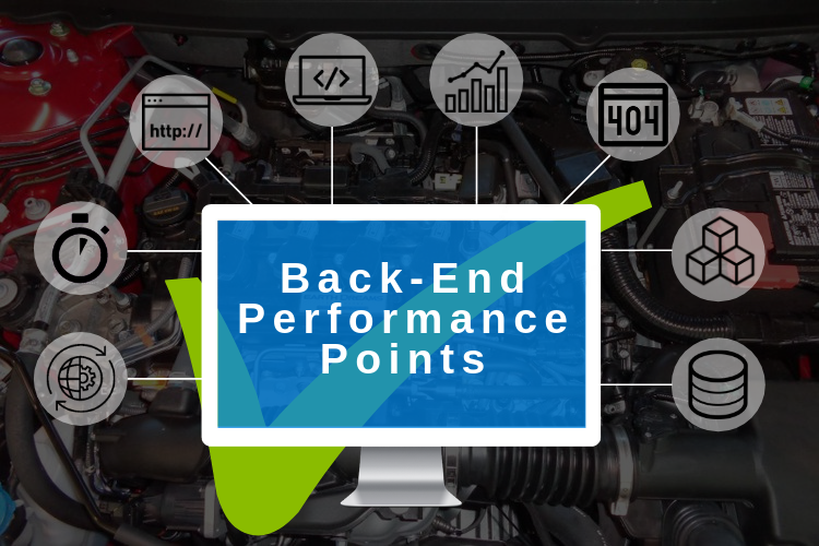 Important website performance points of Back-End