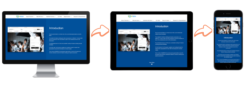 Responsive Design | Important website performance points