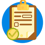Icon for User Survey for web/app designing | Icon credits to flaticons