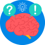 Icon for Brainstorming for ui/ux designing | Icon credits to Flaticons