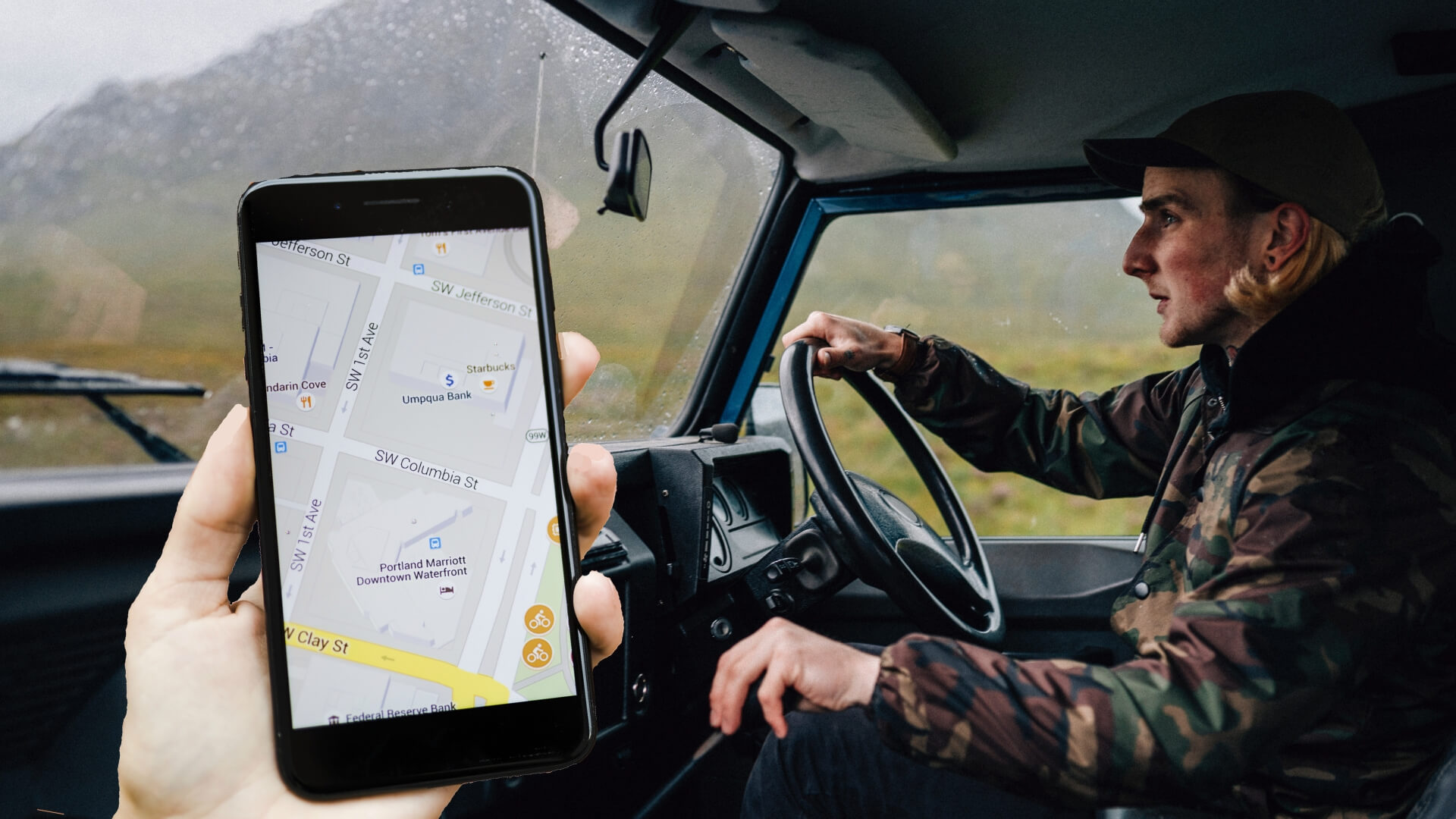 Driver side of the on-demand trucking app development