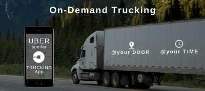 On demand trucking app development
