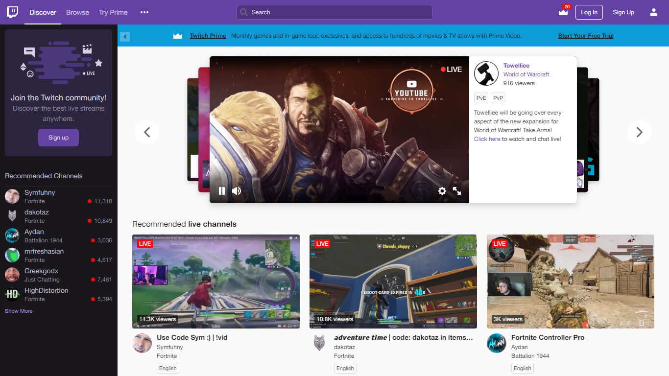 Cover Image Twitch one of the top online video streaming businesses