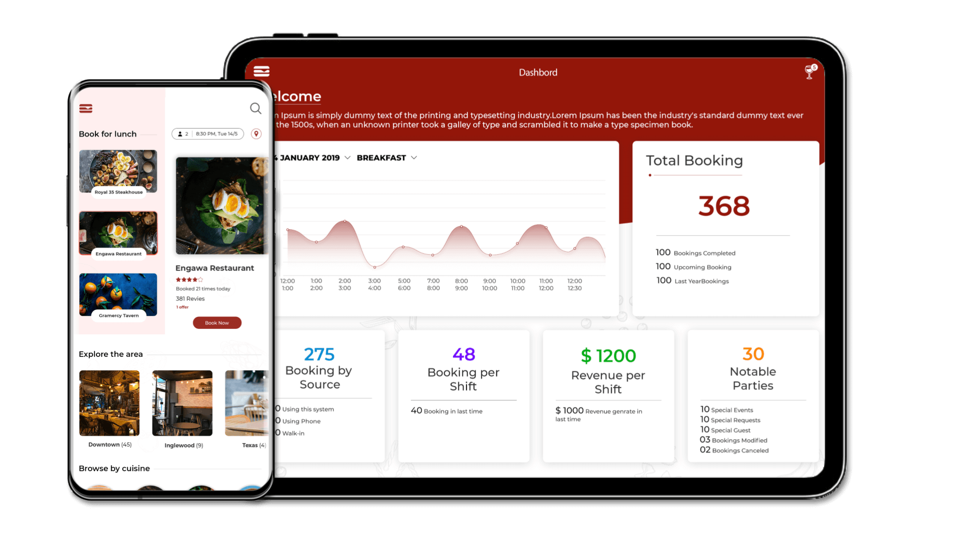 Trooreserve The Opentable Like Booking System For Startups Trootech