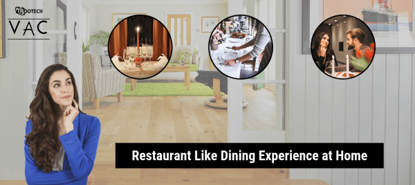 on demand restaurant at home concept