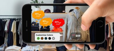 Use of Augmented reality in retail Cover Image