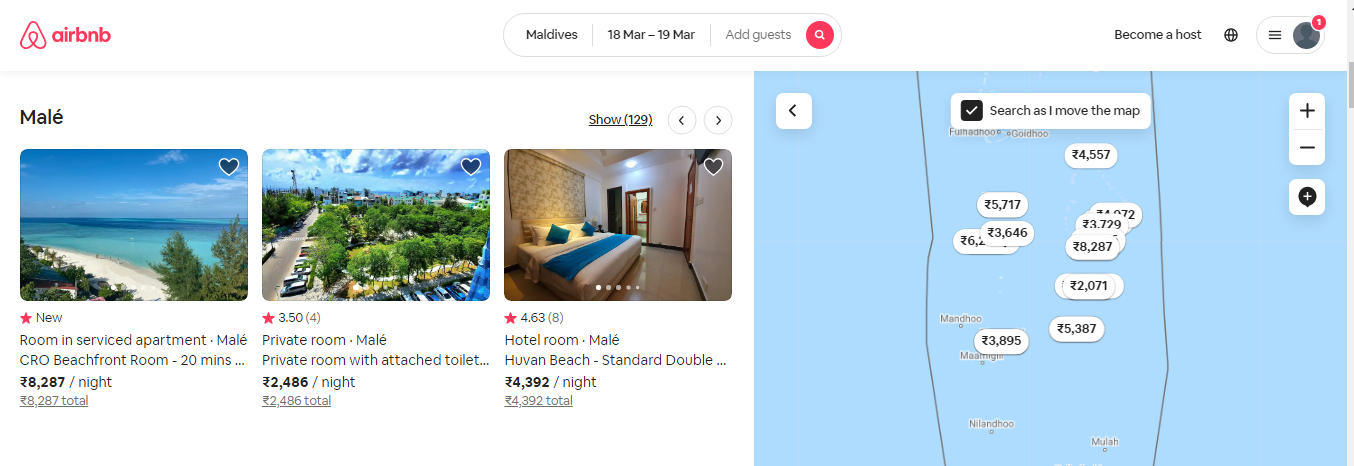 What is the Current User Experience of Airbnb