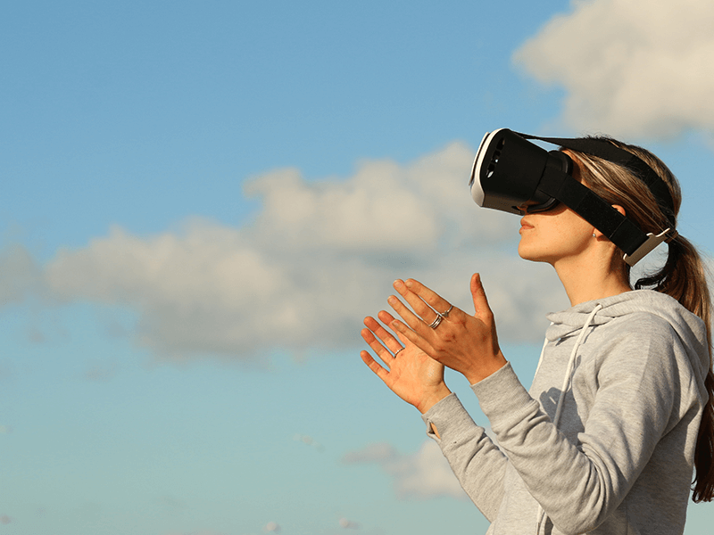 using VR gears for meditation-2-TRooTech Business Solutions